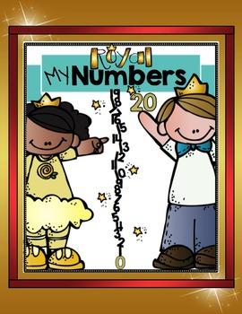 NUMBERS 0-20: MY ROYAL NUMBERS (Number Sense)
