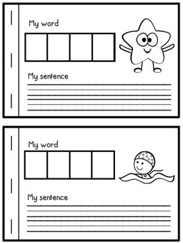 Interactive Phonics Booklet-S Blends