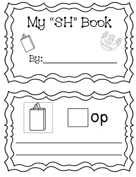 "My ""SH"" Digraph Book (sentences)"