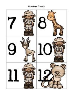 My Safari Counting