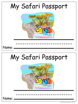 My Safari Passport