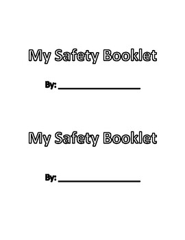 My Safety Booklet