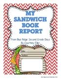 My Sandwich Book Report