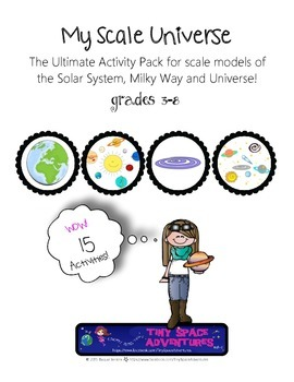 My Scale Universe (Common Core, NGSS, NCSS)