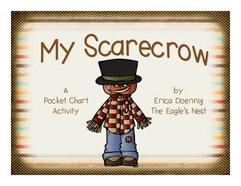 My Scarecrow--An Emergent Reader Pocket Chart Activity