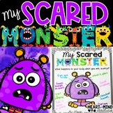 My Scared Monster for Google Classroom Distance Learning