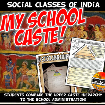 My School Caste: Caste System Analysis Comparison Activity