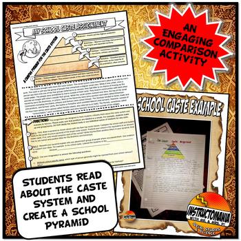 My School Caste: Caste System Analysis Comparison Activity