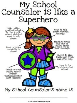 My school counselor is like a superhero school counselor for Who is a consular