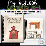 My School Interactive Book