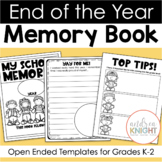 End of the Year Memory Book (Open-Ended Templates for K-2)