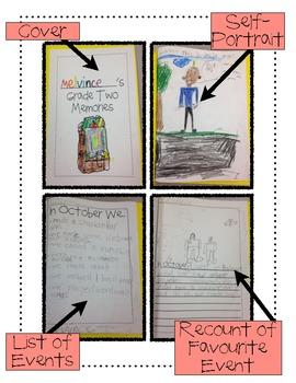 My School Memories {Monthly Memory Book} *Freebie*