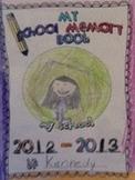 My School Memory Book and Scrapbook
