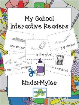 My School Things Interactive Readers