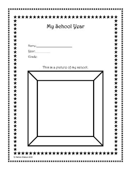 End of the Year Reflection Worksheets