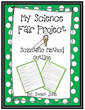 Free My Science Fair Project - Scientific Method Outline