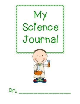 My Science Journal: An interactive journal with graphic organizers