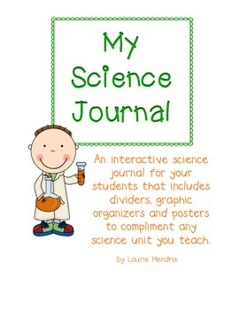My Science Journal: An interactive journal with graphic or