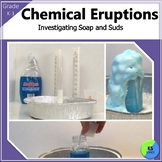 Soap and Suds:  Vinegar and Baking Soda Chemical Reaction