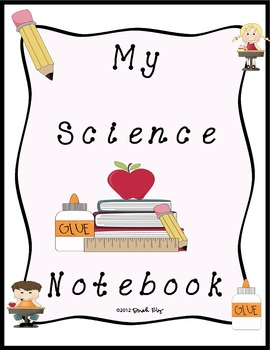 Science notebook cover teaching resources teachers pay teachers my science notebook cover my science notebook cover fandeluxe Choice Image