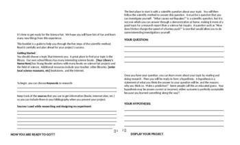 My Scientific Method Booklet!