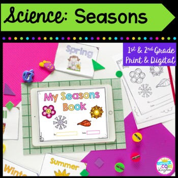 Seasons Mini Unit- 1st & 2nd Grade