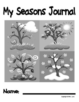 My Seasons Journal (For Elementary Students)