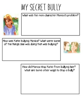 My Secret Bully Worksheet
