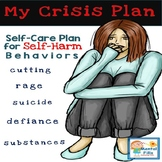 Crisis and Relapse Prevention Plan for Self-Harm, Cutting, or Suicide Ideation
