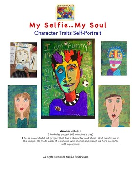 My Selfie…My Soul Character Traits Self-Portrait