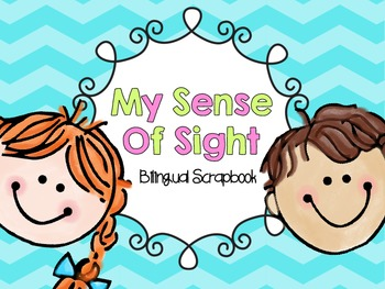My Sense Of Sight {FREEBIE in English and Spanish}