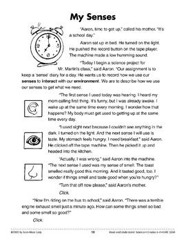 My Senses (Life Science/Five Senses)