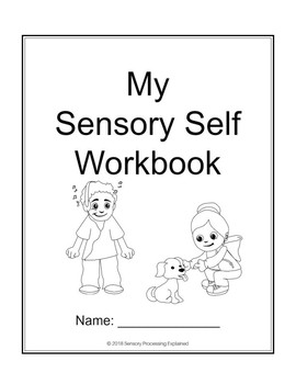 My Sensory Self Workbook for Kids