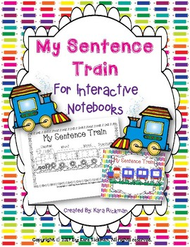 My Sentence Train: For Interactive Notebooks