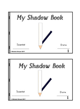 My Shadow Book Pencil