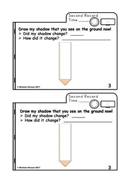 My Shadow Book Pencil
