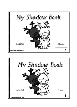 My Shadow Book Reindeer