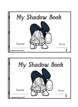 My Shadow Book Turtle