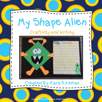 My Shape Alien: Craftivity and Writing