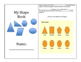My Shape Attribute Book