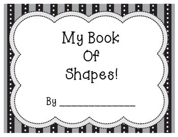 My Shape Book