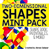 2D Shapes Book, Printables, and More