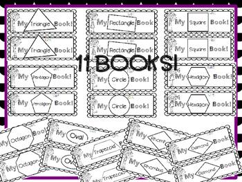My Shape Book BUNDLE -EASY PREP!