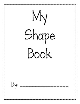 My Shape Book-Color and Draw by Mrs Quinn | Teachers Pay Teachers