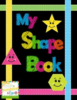 My Shape Book: A 2-D Shape Book for Kinders