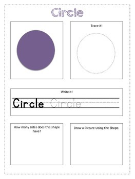 My Shape Book: Practice Shape Recognition Workbook