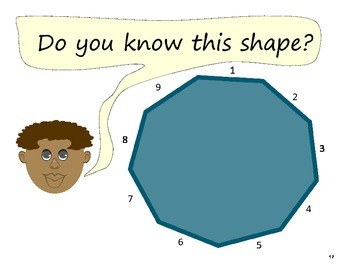 My Shape Book for 2-D, plane shapes