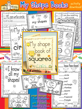 My Shape Books Learning Activity Download