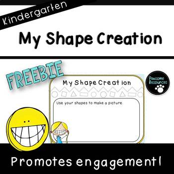 My Shape Creation Mat (***Kindergarten FREEBIE***)