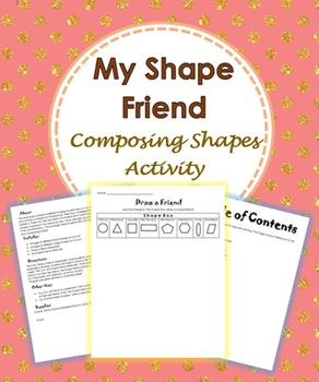 My Shape Friend - Composing Shapes Activity